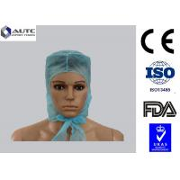 Buy cheap Laboratory Disposable Medical Caps Custom Convenient Breahable For Long Hair product