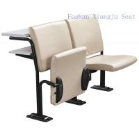 Buy cheap Cold Rolled Steel Frame Geniune Leather with Foam School Desk And Chair With Writing Desk from wholesalers