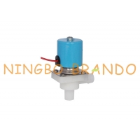 Buy cheap 1/4 Reverse Osmosis System Low Pressure Plastic Drinking Water Solenoid Valve 24V from wholesalers