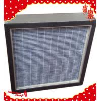 Buy cheap 305x305x69mm aluminum frame active carbon V-bank panel filter for fan filter unit (FFU) from wholesalers