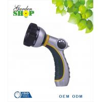 Buy cheap 8-pattern Water Hose Nozzle With Thumb ON/OFF Control For Garden Irrigation from wholesalers