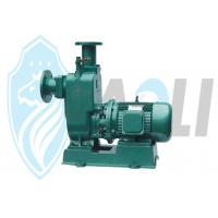 Buy cheap Single Suction Self Priming Centrifugal Pump , Horizontal Self Priming Sewage Pump from wholesalers