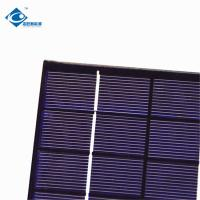 Buy cheap 2W 6V Epoxy Resin Solar Panel ZW-136110-3 mono Lightweight Silicon Solar PV Module for electric bike solar charger product