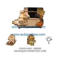 Buy cheap 128000-5080 228000-0210 - DENSO Starter Motor 12V 1KW 9T MOTORES DE ARRANQUE from wholesalers