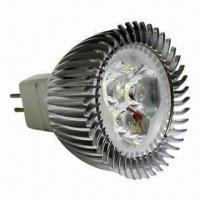 Buy cheap LED Spotlight Bulb with 12V DC/85 to 265V AC Working Voltage and 240lm Luminous product