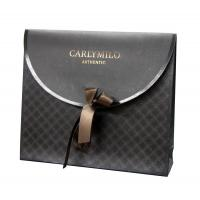 Buy cheap Fancy Design Paper Carrier Bag CARMILO Velvet for Packaging from wholesalers