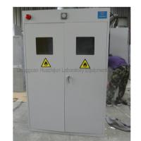 China Metal Steel Laboratory Storage Cabinets , Compressed Gas Cylinder Cabinets on sale