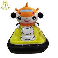 Buy cheap Hansel  amusement park indoor playground plastic electric kids ride on car from wholesalers