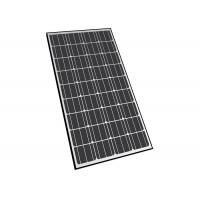 Black Color Monocrystalline Solar Module Anodized Aluninium Alloy Frame