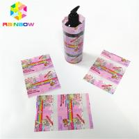Buy cheap Transparent Laminated PVC Heat Shrink Sleeve , Wrap Bottle Sleeve Labels Customized from wholesalers