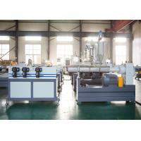 Buy cheap PA / PVC Flexible Corrugated Pipe Production Line Water / Fan Cooling Mode from wholesalers