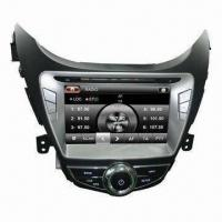 Buy cheap 8-inch Car DVD Receiver for Hyundai Elantra, RDS/GPS/Bluetooh/3G/TMC/TV/Phonebook/iPod Features from wholesalers