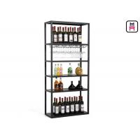 Buy cheap Custom Size Metal Material wine rack shelf  For Restaurant Bar Use Rustic Chic Style from wholesalers