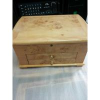 Buy cheap Beige Lacquer Wooden Presentation Boxes For Jewellery Velvet Inside from wholesalers