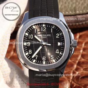 China Replica Patek Philippe Aquanaut 5167A Watch Swiss 324 SC Movement on sale