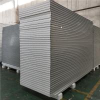 Buy cheap waterproof eps sandwich panel house building materials 1150-50-0.426mm with steel strip from wholesalers