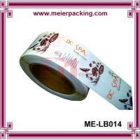 Buy cheap Clear matte label sticker/Transparent cosmetic sticker/CustomRoll Stickers  ME-LB014 from wholesalers