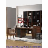 Buy cheap 2016 New Nordic Design Study room Furniture by Walnut wood Office Desk with from wholesalers