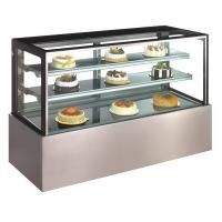 Buy cheap Commercial Fan Cooling Refrigerated Cake Display Cabinets Steam For Humidification product