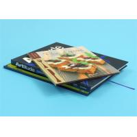 Buy cheap 3mm Greyboard Coated Hardcover A4 Book Printing with Gold Stamping from wholesalers