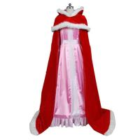 Buy cheap Princess Dress Wholesale Customized Beauty and the Beast Red Belle Princess Costume Belle Cosplay Costume from wholesalers
