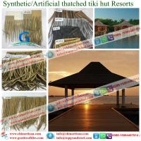 Buy cheap Africa Roofing Hawaii USA - Fiber Thatch Synthetic Thatch Roofing Artificial Thatch Roofing Palapa Structures from wholesalers