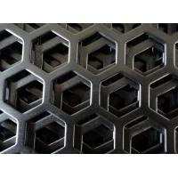 Buy cheap 1000mm*2000mm powder coating metric perforated sheet metal for Africa / PVDF coating decorative perforated metal mesh from wholesalers