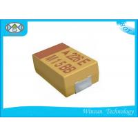 Buy cheap Large Size Solid Tantalum Chip Capacitors 33μF - 1500μF Case E For Electronic Products from wholesalers