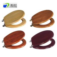 Buy cheap Direct manufacturer! solid wood sanitary seat cover with soft close/quick release hinges-European and US standard from wholesalers