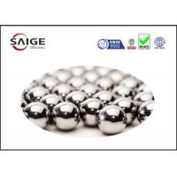 Buy cheap Silver AISI 52100 Round Steel Balls With Diameter 2.778mm For Ball Bearings product