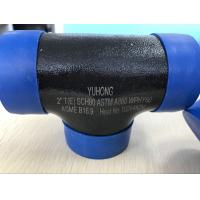Buy cheap ASTM A860 WPHY 60 Butt Weld Fittings , Equal Tee  1 SCH40 BW B16.9 from wholesalers