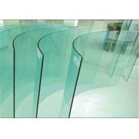Buy cheap Flat / Bent Tempered Safety Glass High Strength 10mm Toughened Glass For Curtain Wall from wholesalers