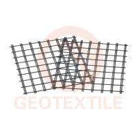 Buy cheap 400Kn / 400Kn Uniaxial Geogrid , Low Elongation Pet Geogrid For Airport Road Reinforcement from wholesalers