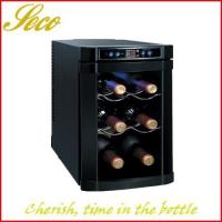 6 bottle classic wine cooler fridge