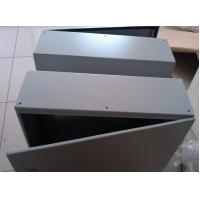 Buy cheap Electrical Control Panel Enclosure , Light Grey Metal Electrical Enclosure Box from wholesalers