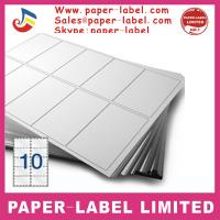 Buy cheap Label Dimensions: 105mm x 59.4mm Software Compatible Codes: DPS10 A4 labels from wholesalers