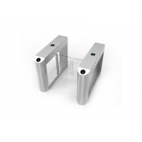 Buy cheap Fingerprint Supermarket Security Swing Barrier Gate Automatic Turnstiles from wholesalers
