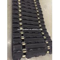 Buy cheap snowmobile rubbert belt snow motorcycle rubber track from wholesalers