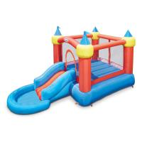 Buy cheap Inflatable Bounce Castle with Slide into Ball Pit from wholesalers