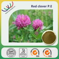Buy cheap China manufacturer supply high quality 40% isoflavones red clover extract from wholesalers