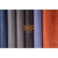 Buy cheap Fake Leather Faux Suede Upholstery Fabric , Custom Auto Upholstery Fabric from wholesalers