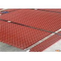 China red color woven wire screen with size of 2000x3000mm for Saudi Arabia high quality 65 Mn lower price on sale
