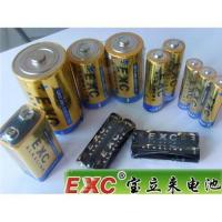 Buy cheap EXC super Dry Battery D C AA AAA 9V size product