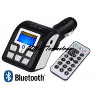 Buy cheap Car mp3,bluetooth Car MP3 Player,car Bluetooth Wireless FM transmitter with remote control USB SD/MMC Slot from wholesalers