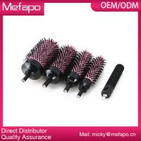 Buy cheap Round Plastic Nylon Brush Detachable Ceramic Ionic Hair Brush from wholesalers