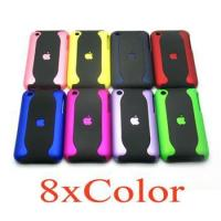 Buy cheap Lightweight Hard Case Apple IPhone 3G Cool Red Cell Phone Faceplate Covers from wholesalers