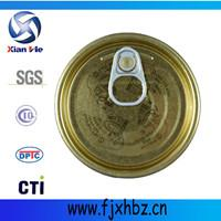 Buy cheap 300D 73mm easy open end (EOE) full open cap tin top for food beverage can factory from wholesalers