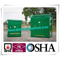 Buy cheap Outdoor Chemical Storage Cabinets Safety Flammable Locker For Pesticide from wholesalers
