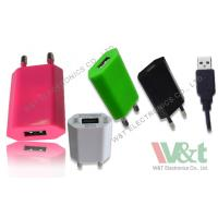 Buy cheap 2 Pin Plug Portable Mini AC DC USB Charger For Bluetooth Speaker , CB / KC / GS Approved from wholesalers