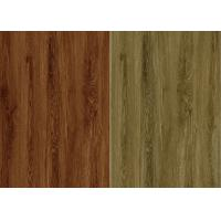 Buy cheap Wood Grain Surface Texture Sheet Vinyl Flooring PVC Material SGS / CE Certification from wholesalers